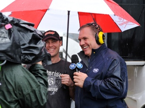 Award-winning pit reporter Matt Yocum. Photo courtesy Fox Sports.